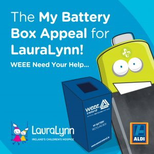 RECYCLED BATTERIES WILL MAKE MAGICAL MOMENTS FOR LAURALYNN