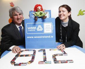 WEEE Ireland power ahead and smash EU Battery Recycling Target