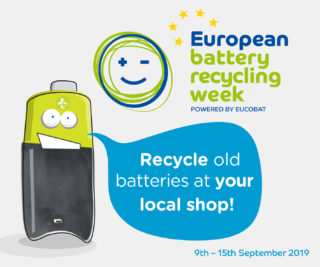 European Battery Recycling Week 2019